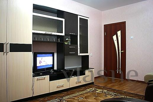 The apartment is located in the heart of the city of Pushkin